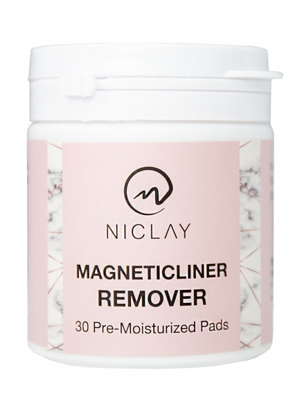 NICLAY | MagneticLiner Remover | 30 Pads